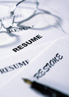 Resume graphic